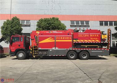 Manual 12 Transmission Firefighter Truck Flood Drainage System Function