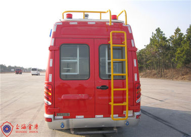 Max Speed 115KM/H Emergency Command Vehicles , Approach Angle 20° Fire And Rescue Vehicles