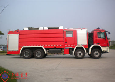 Cina Max Power 440KW Fire Fighting Truck Fixed All Equipments Dengan Rust Proof Special Clamp pemasok