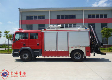 Gross Weight 13066kg Emergency Rescue Vehicle China IV Emission Standard For Firefighting