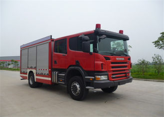Cina Chemical Accidents Rescue Dan Salvage Fire Truck Fire Equipment Truck, Max Speed ​​100KM / H pemasok