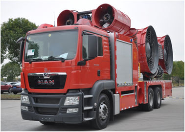 Large Power Fire Brigade Truck / Fire And Rescue Vehicles ISO9001 / CCC