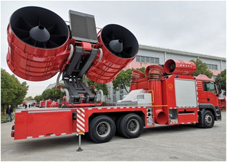 High Pressure Rescue Fire Truck Monolithic Clutch 430mm Diameter Large Smoke Exhaust
