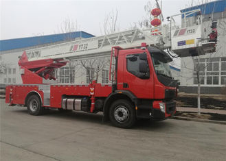 32 meters Aerial Ladder Fire Truck Euro V emission Five telescopic ladders