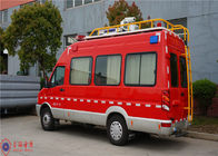 Cina IVECO Chassis Command Fire Trucks Gross Weight 4000kg Untuk Buliding Fire Fighting pabrik
