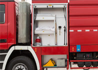 Six Seats Airport Fire Vehicles HALE Pump 6000L / Min Gross Weight 29000 KG