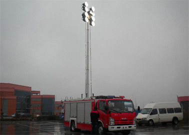 Cina Berat kotor 8150kg Industrial Fire Truck, Light Rescue Truck 139KW Rated Power Distributor