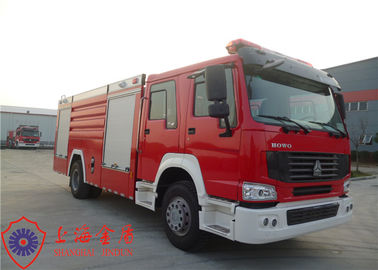 Cina 20 Ton Loading Water Tanker Fire Truck Flat Top Four - Door Memanjang Cab Distributor