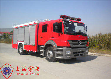Cina Max Speed ​​100KM / H Foam Fire Truck Kursi Adjustable Dengan Pendinginan Pipa Air pabrik