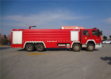 Cina Darley Pump Commercial Fire Trucks 11775 × 2500 × 3700mm Dimension Drive 8x4 Distributor