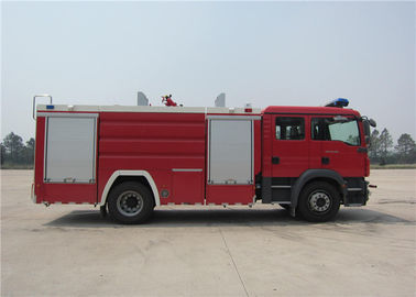 Cina Water Fire Light Truck 5684L Berat Kotor 15330kg Empat - Stroke Turbocharged Engine Distributor