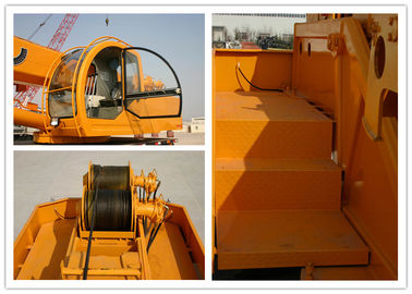 Cina 2500r / Min Truck Bed Mounted Crane, 25000kg Lifting Berat Hydraulic Truck Bed Crane Distributor